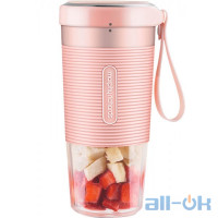 Фітнес-блендер Xiaomi Morphy Richards Portable Juice Cup Pink (MR9600)
