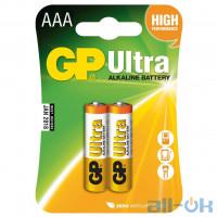 Батарейка AAA (LR-3) GP Super (24A-U2) (2шт на блистере)