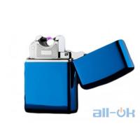 Электроимпульсная USB зажигалка  Arc Slim Blue