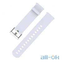 Ремешок Mijobs 20mm для Xiaomi Amazfit Bip White