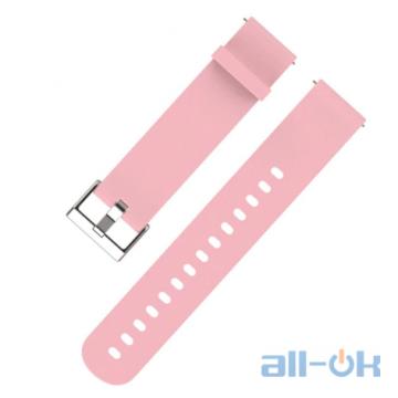 Ремешок Mijobs 20mm для Xiaomi Amazfit Bip Pink
