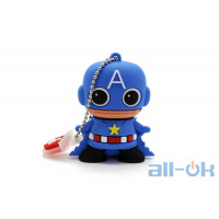 Флешка USB 16Gb Captain America