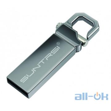 Флешка Suntrsi USB 32GB Metal Creative U Disk Silver