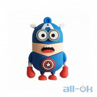 Флешка USB 16Gb Minions Captain America