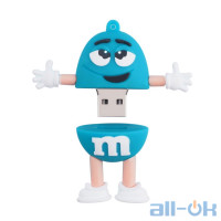 Флешка USB 16Gb m&m's Blue