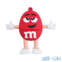 Флешка USB 16Gb m&m's Red