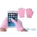 Рукавички для сенсорних екранів унісекс Pink — інтернет магазин All-Ok. фото 1