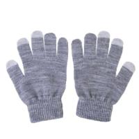 Перчатки для сенсорных экранов унисекс Grey