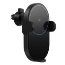 Автомобильный держатель- беспроводная зарядка для смартфона Xiaomi MI QI Car Wireless Charger (WCJ02ZM) Black