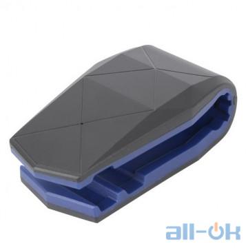 Автомобильный держатель Aligator clip blue