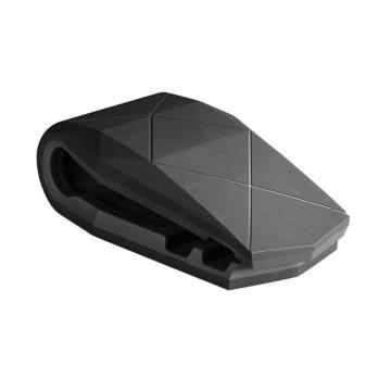 Автомобильный держатель Aligator clip grey
