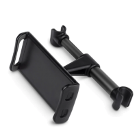Автомобильный держатель в подголовник для телефона/планшета EAFC Black