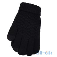 Зимние перчатки для сенсорных экранов унисекс Swokii Black
