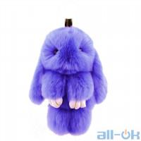 Брелок Пухнастик Rabbit Violet