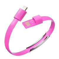 USB-Lightning браслет Pink