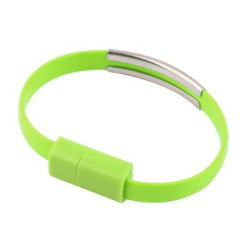 USB-Lightning браслет Green