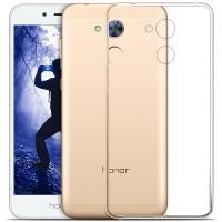 Силиконовый чехол для Huawei Honor 6A прозрачный