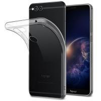 Силиконовый чехол для Huawei Honor 7X прозрачный