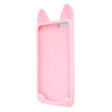 Силиконовый чехол Coco Cat для Apple iPhone 7 Pink