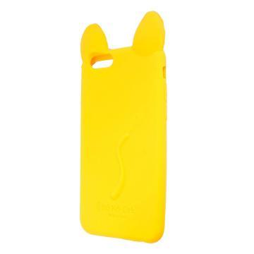 Силиконовый чехол Coco Cat для Apple iPhone 7 Yellow
