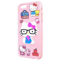 Силиконовый чехол Hello Kitty для Apple iPhone 6/6s