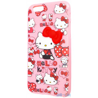 Силиконовый чехол Hello Kitty для Apple iPhone 6
