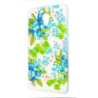 Чехол Diamond Silicone Meizu M5 Note Cath Kidston Romantic Blue
