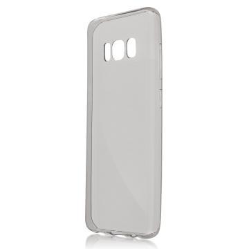 Силиконовый чехол для Samsung G950 (S8) прозрачно-тёмный