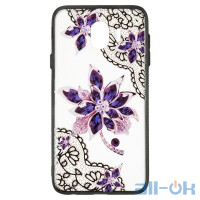 Чехол Rock Tatoo Art Case для Xiaomi Redmi Note 5   Flowers