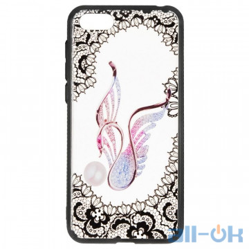 Чехол Rock Tatoo Art Case для Xiaomi Redmi Note 5 Swan