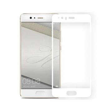 Защитное стекло для HUAWEI P10 с рамкой 3D White