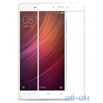 Защитное Стекло Full Screen Xiaomi Redmi Note 4 White