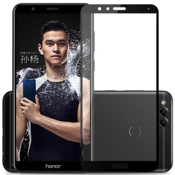 Защитное стекло с рамкой для Huawei Honor 7X Black