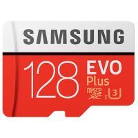 Карта памяти Samsung 128 GB microSDXC Class 10 UHS-I U3 EVO Plus + SD Adapter MB-MC128GA