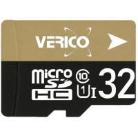 Карта памяти Verico MicroSDHC 32GB Class 10 + SD Adapter