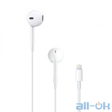 Наушники Apple EarPods для iPhone 7 lightning