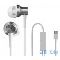 Наушники с микрофоном Xiaomi Mi In-Ear Headphones Pro Type-C White