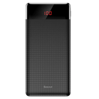 Зовнішній акумулятор (Power Bank) Baseus Mini Cu digital display Power Bank 10000mAh Black (PPALL-AKU01)