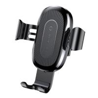 Автомобильный держатель- беспроводная зарядка для смартфона Baseus Gravity 10W Black