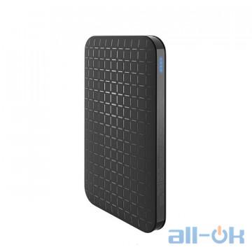 HOCO 5000 mAh Power Bank Ultra-thin Polymer Dual USB black