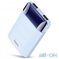 Зовнішній акумулятор (Power Bank) Hoco B29 10000 mAh blue