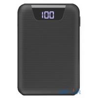 Power Bank Rock Mini Digital Display 10000mAh Black