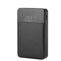 Power Bank Rock Space P66 Mini Digital Display 10000mAh Black