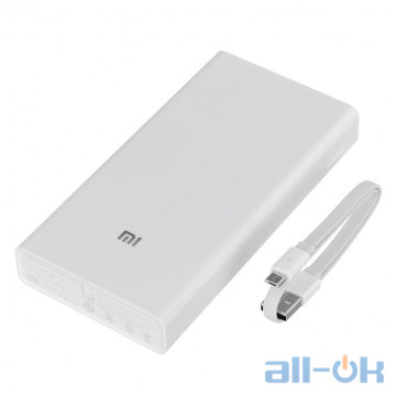 Xiaomi Mi Power Bank 2C 20000mAh White (PLM06ZM)