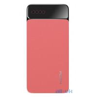 Внешний аккумулятор Power bank Rock P38 10000 mah with Digital Display Red
