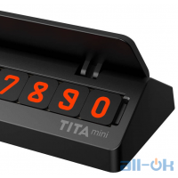 Временная карта парковки (автовизитка) Xiaomi BCase TITA mini Black