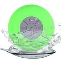 Портативная колонка BTS06 Green Bluetooth водонепроницаемая с присоской Wireless Speaker AY27313