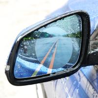 Влаго отталкивающая плёнка 2шт 95мм круглая Car Rearview Mirror Protective Film Rainproof round
