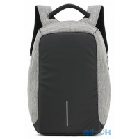 Рюкзак городской XD Design Bobby anti-theft backpack 15.6 Grey P705.542