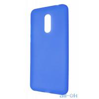 Силиконовый чехол Xiaomi Redmi 5 Plus Blue